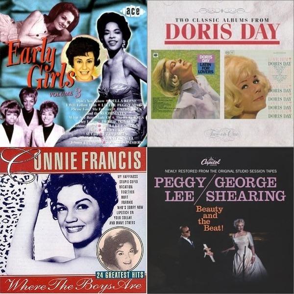 Diva Love songs 1950s & 1960s