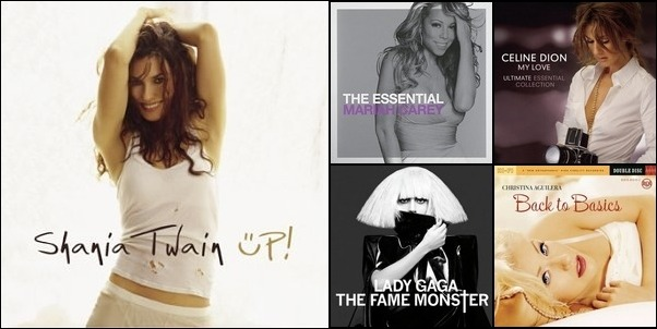 My Favorite Female Artists