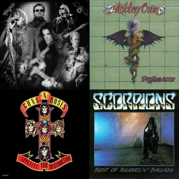 Sing-along I: The Power Ballads and Hair Metal