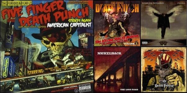 Alternative, Metal, and Rock
