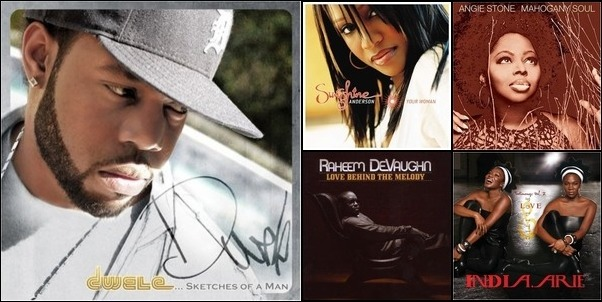 Cool Albums Of R & B