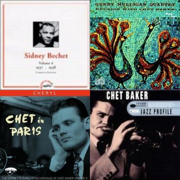 Three B's - Bechet, Brubeck, Baker and more