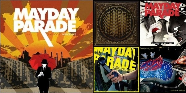 Mayday Parade Playlist