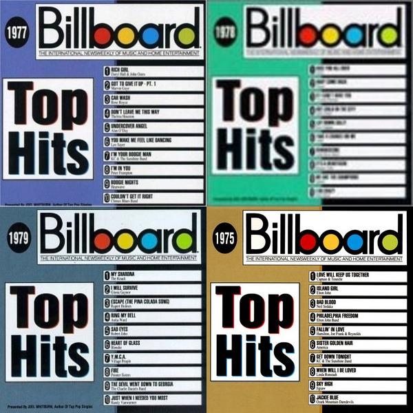 BILLBOARD TOP HITS 1970-1979