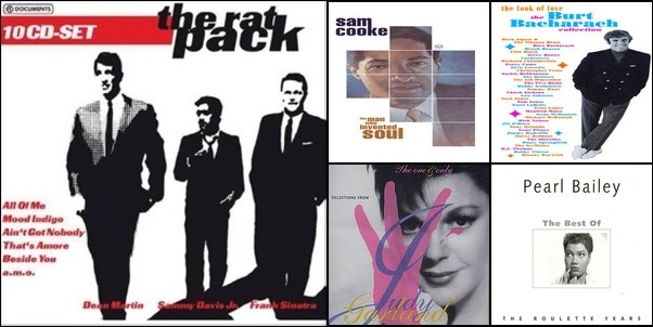 Traditional And Vocal Pop 50's-70's