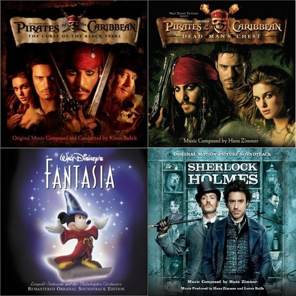 Pirates of the Caribbean Soundtracks