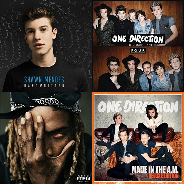 5sos, 1D, Fetty Wap and more!