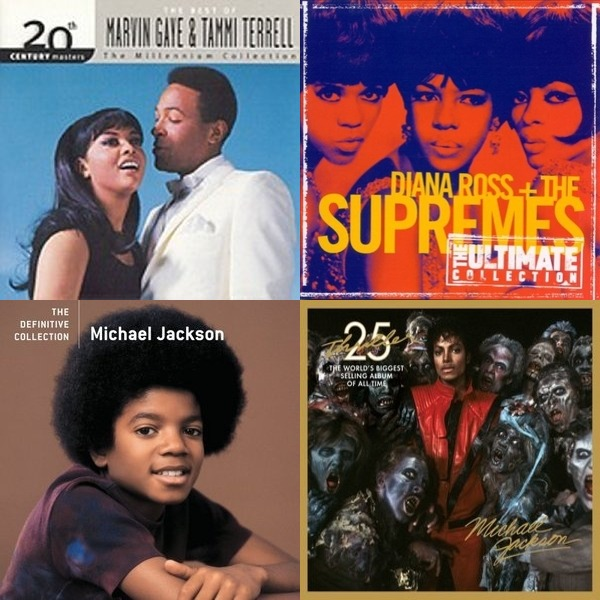 the very best of motown records