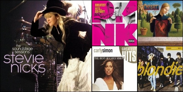 Favorite Female Singers
